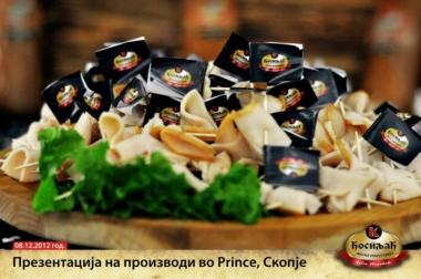Презентација на производи во Prince - Скопје
