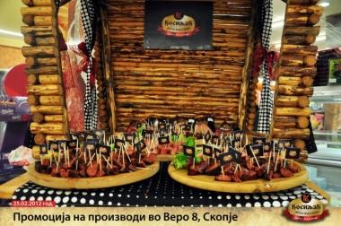 Презентација на производи во Веро 8 - Скопје